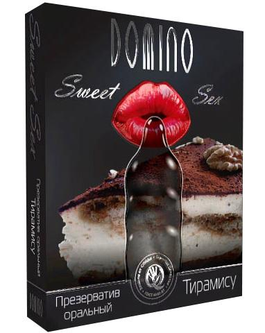 Презерватив DOMINO Sweet Sex  Тирамису  - 1 шт.